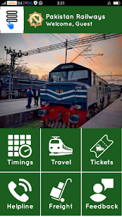 Pakistan Railways Official- screenshot thumbnail