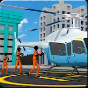 Stickman Prisoner Transport: Police Airplane Games