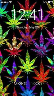 Ganja Weed Lock Screen - náhled