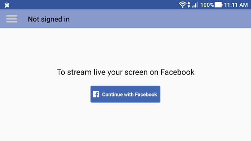 Live Screen for Facebook 1.1.107 screenshots 1