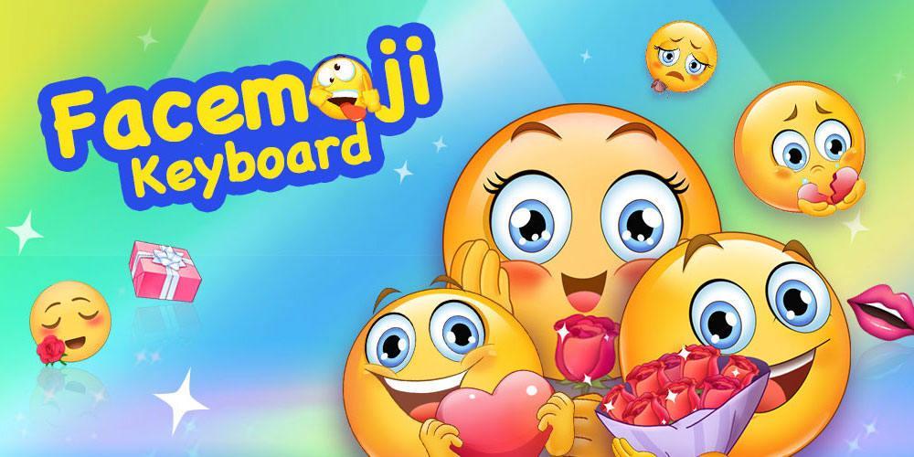 Facemoji Emoji Keyboard:GIF, Emoji, Keyboard Theme screenshots