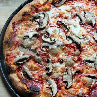Truffled Portabella Mushroom Pizza.