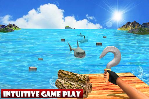 Raft Ocean Craft Survival: Shark Attack 1.0 screenshots 1