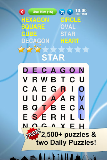 Word Search World Traveler apkdebit screenshots 1