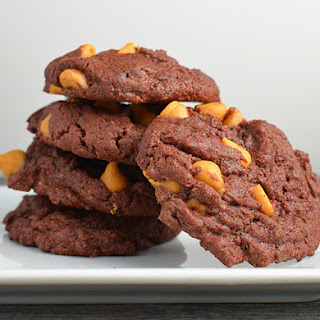 Chocolate Butterscotch Drop Cookies
