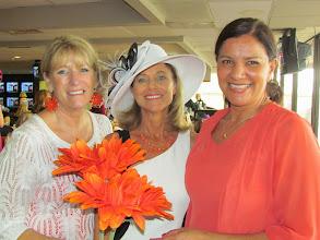 Photo: Turf Paradise accountant Dani Clegg, Director of Corporate Sales Serena Simms, and Marketing Director Amelia Blanco