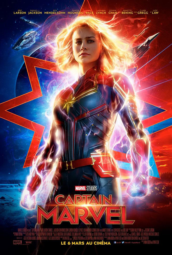 Brie Larson stars as Carol Danvers, the mighty Captain Marvel.