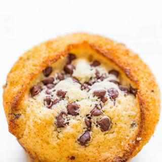 Skinny Vegan Chocolate Chip Muffins.