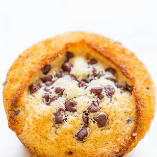 Skinny Vegan Chocolate Chip Muffins.