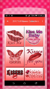 GIF Kisses Collection 2018 - náhled
