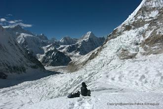 Photo: Iman comtemple  la vue depuis le glacier du Pathibhara ( 6200 m )