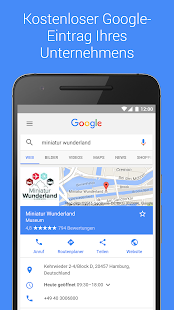 Google My Business – Miniaturansicht des Screenshots