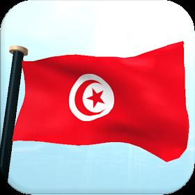 Тунис Флаг 3D Бесплатных Обои