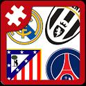 Football: logo puzzle quiz icon