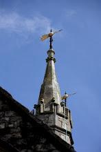 Photo: Day 3 - Weather Vane on Church in Ashford