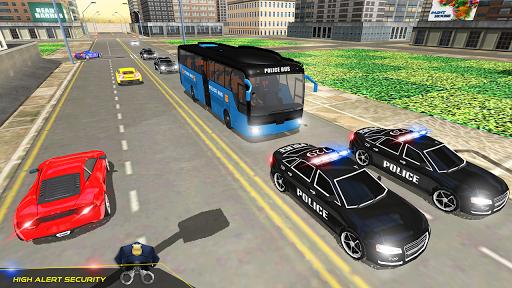 US Police Bus Transport Prison Break Survival Game 4.0 screenshots 4