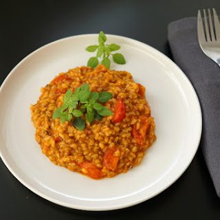 Red Pesto Risotto Recipe