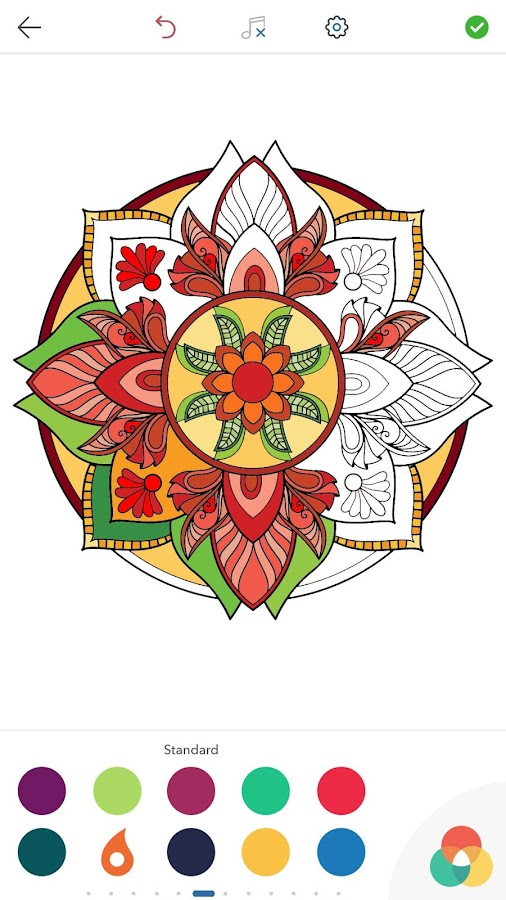 Magic Mandalas: Coloring Pages - Android Apps on Google Play