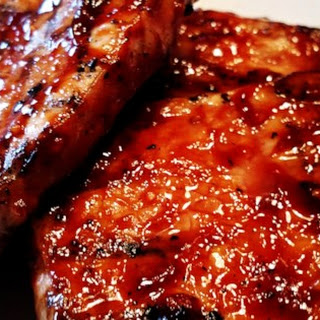 World's Best Honey Garlic Pork Chops.