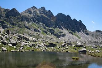 Photo: Vall de Boí:  estany Clot i Agulles de Travessani