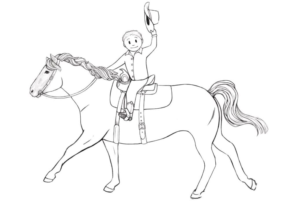 Rein Coloring Sheets