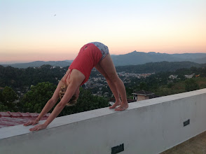 Photo: Rooftop Yoga: 1 item on the bucket list checked off!