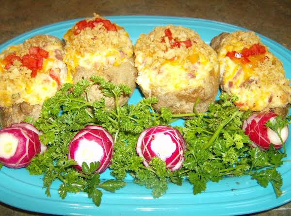 Rose Mary's Twice Baked Party Potatoes