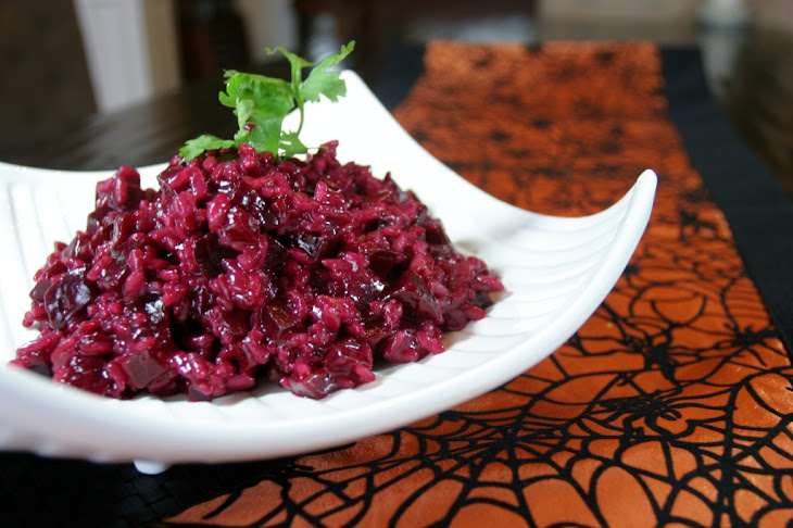 Beet Risotto Recipe