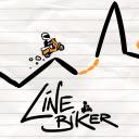 Line Biker Game Icon