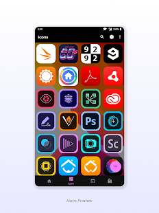 Leap iOS Icon Pack v 1 0 7 APK Patched for Android