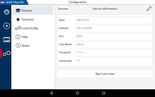 iDVR Plus HD 3.4.5 screenshots 12