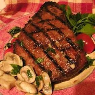 Beer and Brown Sugar Steak Marinade.
