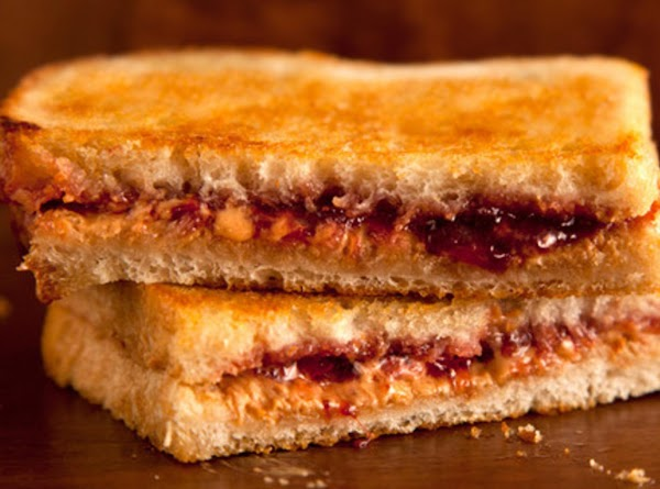 Grilled Peanut Butter      & Jelly Recipe