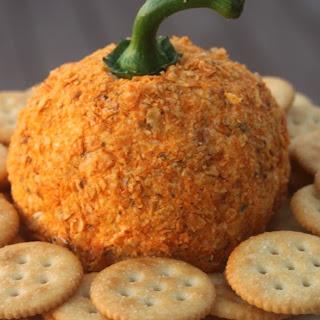 Jalapeno Popper Pumpkin Cheese Ball