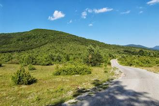 Photo: Droga do wsi, asfalt jak kartka papieru :)
