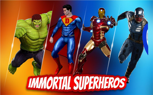 Immortal Gods Fighting Ring Arena Superhero War 1.5 5