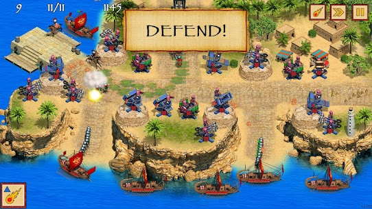 Defense of Egypt TD Premium MOD APK [Unlimited Money] 3
