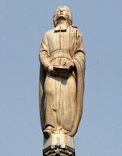 Photo: servizio Duomo di Milano - MILANO 4 08 04 DUOMO DA SCOPRIRE NELLA FOTO: LA STATUA DI SAN BIAGIO FOTO STEFANO DE GRANDIS/AG.EMMEVI - Fotografo: emmevi