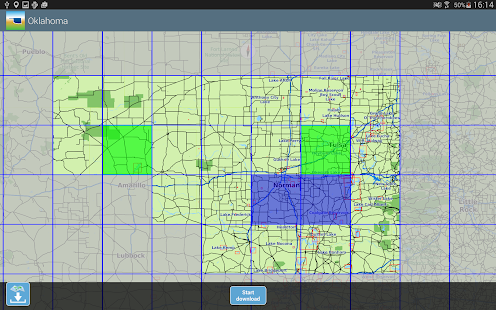 Aqua Map Oklahoma Lakes GPS- screenshot thumbnail