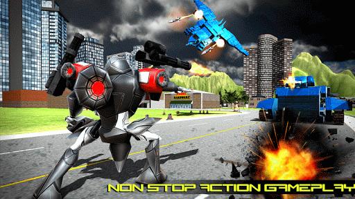 Transform Robot Action Game filehippodl screenshot 18