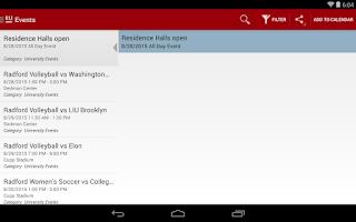 Screenshot of RU Mobile