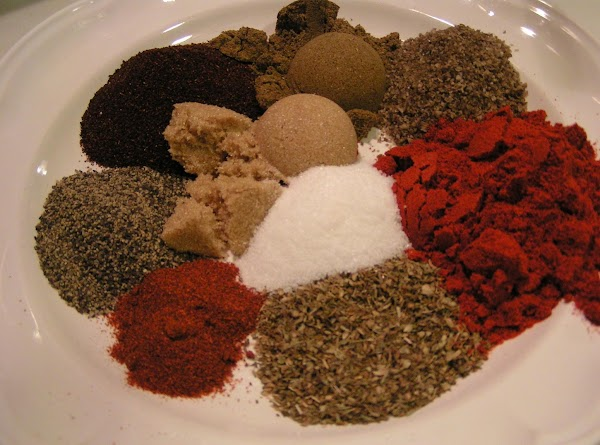 For Spice Rub: measure out ingredients and combine.
