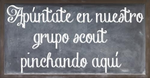 Inscríbete en grupo Scout San Francisco