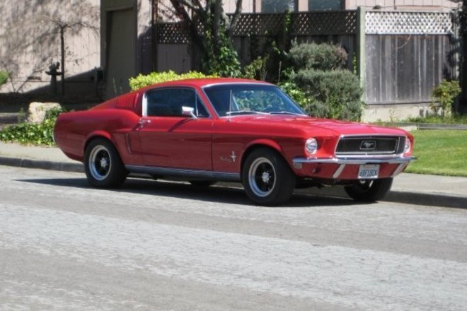 1968 Ford Mustang Fastback Hire CA