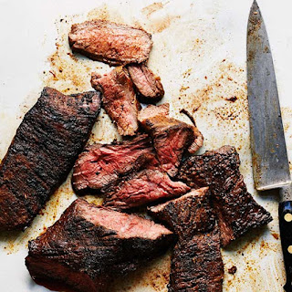 Grilled Steak Recipe with Coffee Spice Rub