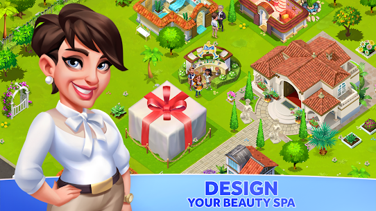 My Spa Resort: Grow, Build MOD APK [Unlimited Money] 5