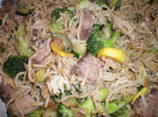 Beef Teriyaki Yakisoba Recipe