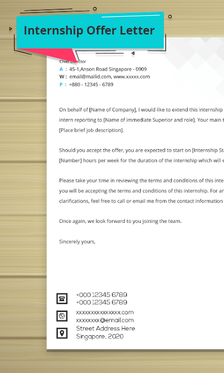 Letter Writing Templates – (Android Apps) — AppAgg