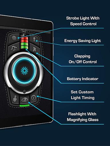 Flashlight - Torch LED Flash Light screenshot 8