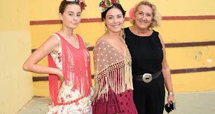 Noelia Villegas, Piedad Martínez y María del Mar Ruíz
